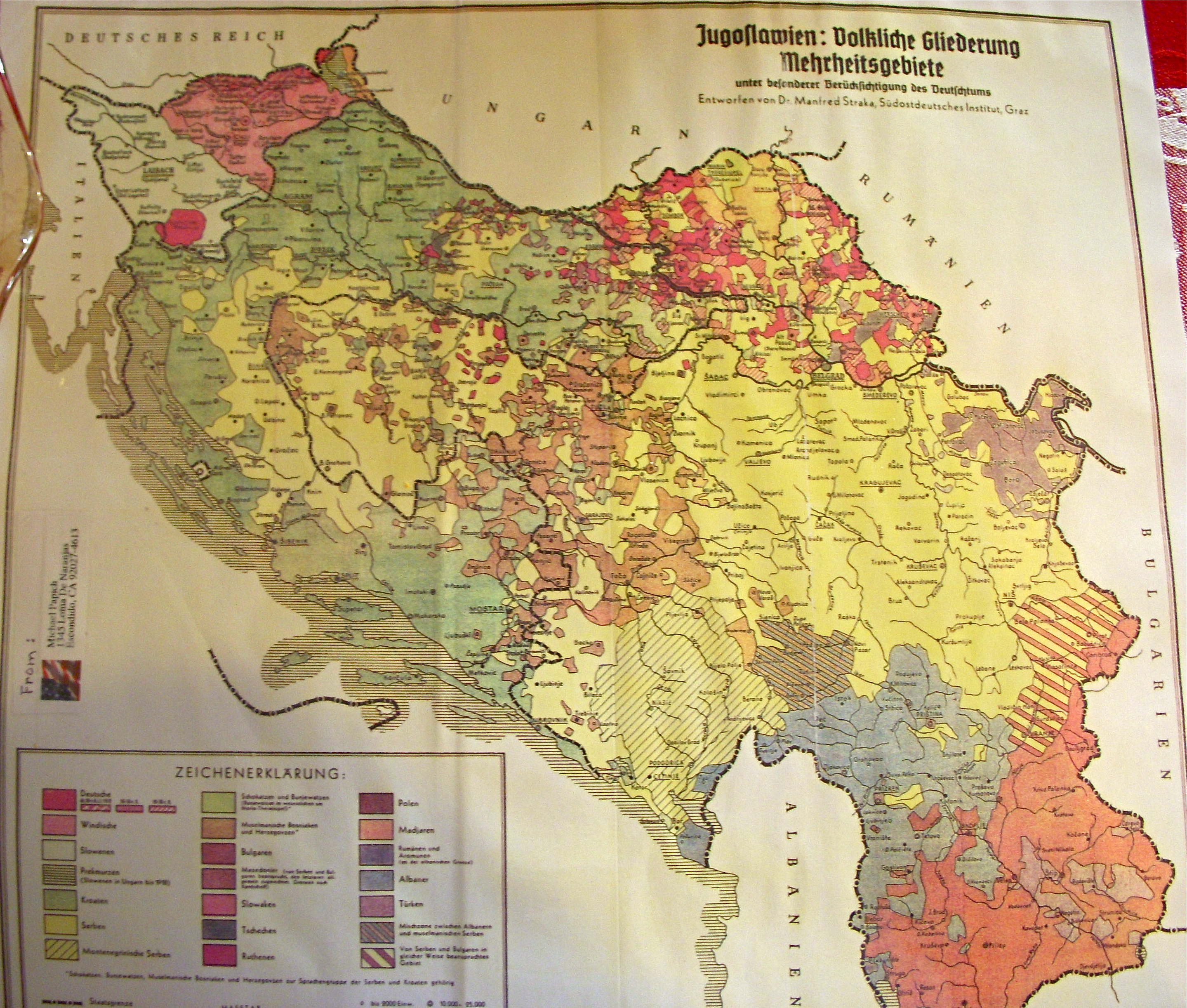 Serbian History 101 Old Maps and Old Books
